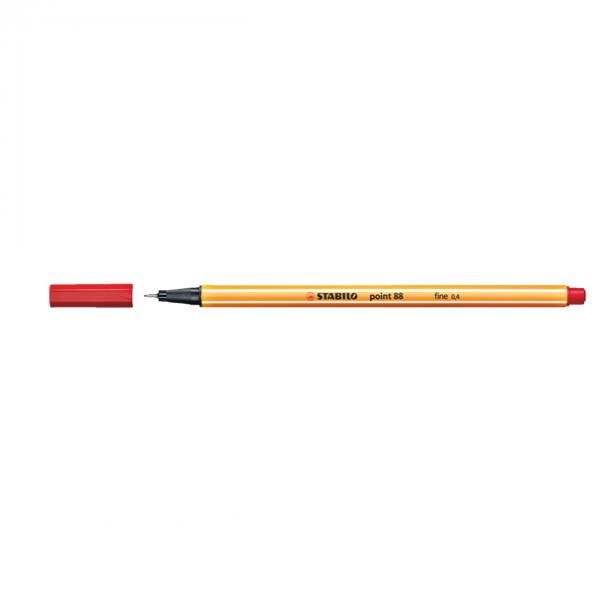 Stabilo Point 88 Kırmızı 88/40