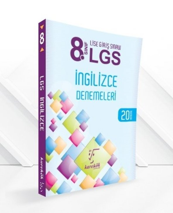 Karekök LGS 8.Sınıf İngilizce 20 Deneme