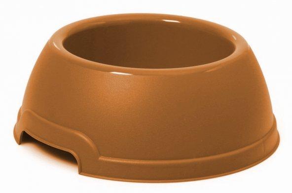 Plastik köpek mama su kabı 1,5 litre Turuncu