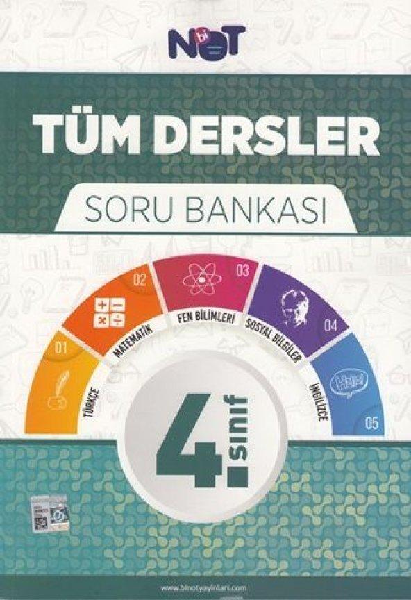 BiNot Yayınları 4.Sınıf Tüm Dersler Soru Bankası