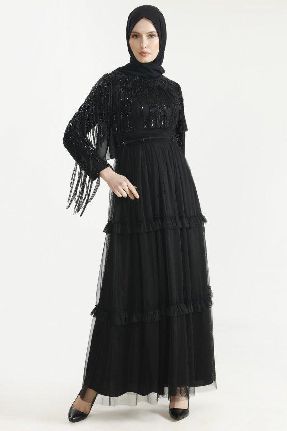 Sitare Hennin Elbise 3823
