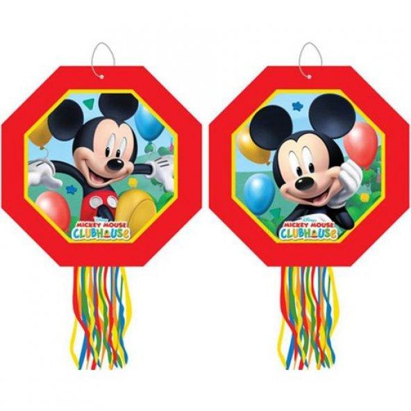 Pinyata Mickey Mouse Temalı Çubuklu