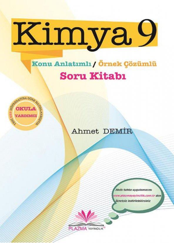 9.Sınıf Kimya Soru Kitabı Plazma Yayıncılık