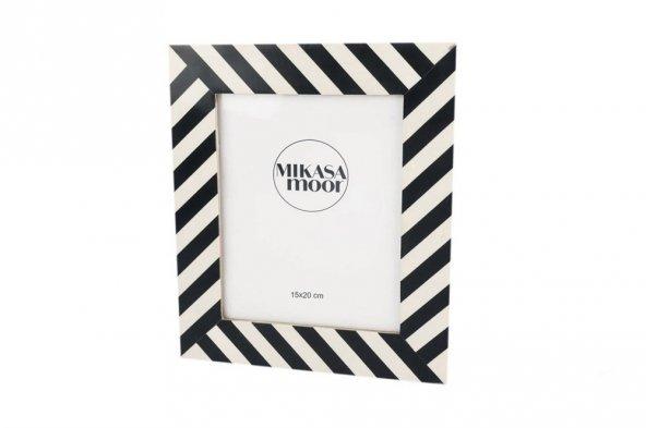 Siyah Beyaz Geo Des Çerçeve 15x20cm