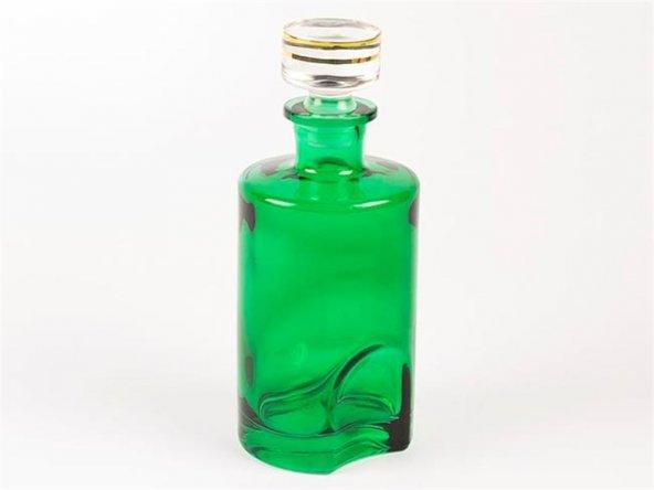 Yeşil Yuv Cam Şişe 20cm
