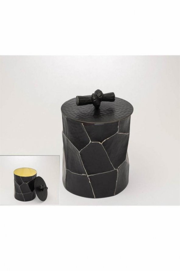 Siyah Des Kutu 13x15cm