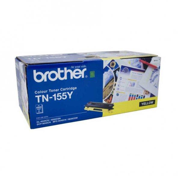 Brother TN-155 Sarı Orjinal Toner Yüksek Kapasiteli