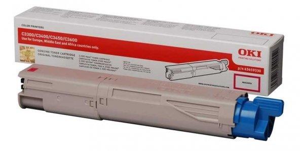 Oki C3300-43459346 Kırmızı Orjinal Toner Yüksek Kapasiteli