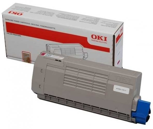 Oki C710-44318622 Kırmızı Orjinal Toner
