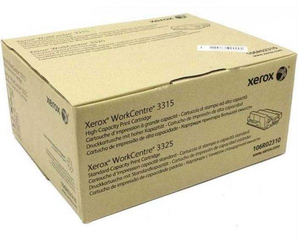 Xerox Workcentre 3315-106R02310 Orjinal Toner Yüksek Kapasiteli