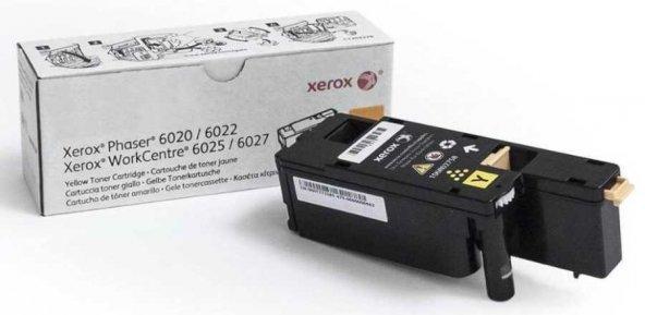 Xerox Phaser 6020-106R02762 Sarı Orjinal Toner