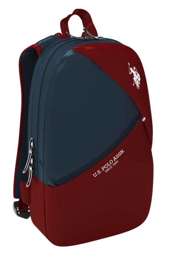 U.S. Polo Assn. PLÇAN8275 Sırt Çantası Kırmızı