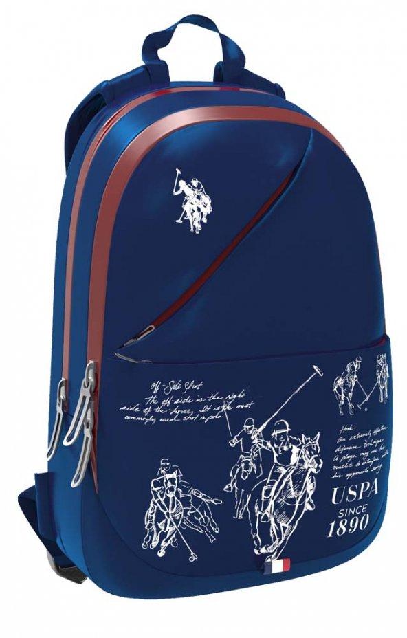 U.S. Polo Assn. PLÇAN8181 Sırt Çantası Lacivert