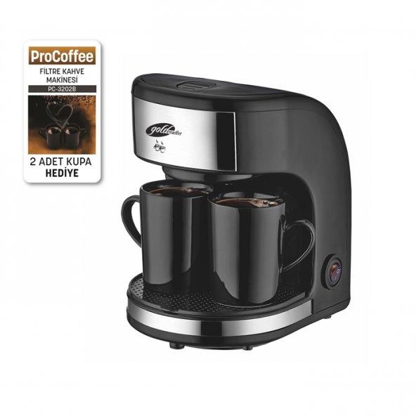 PC-3202B ProCoffee Mini Filtre Kahve Makinesi