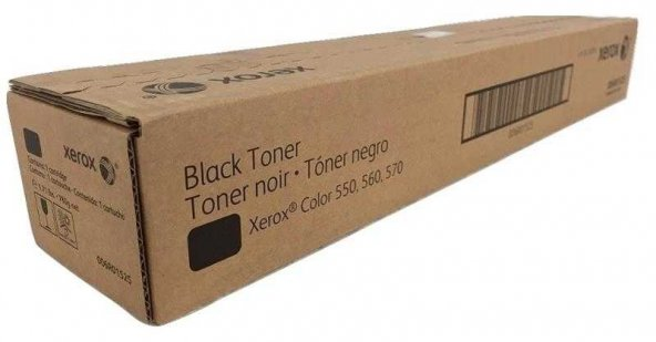 Xerox Color 550-006R01525 Siyah Orjinal Fotokopi Toneri