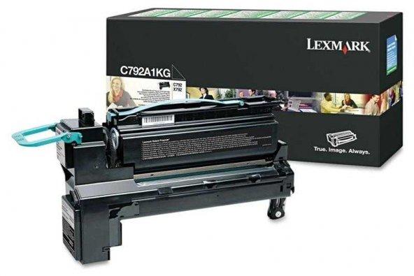 Lexmark C792-C792A1KG Siyah Orjinal Toner