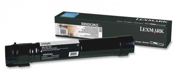 Lexmark X950-X950X2KG Siyah Orjinal Toner