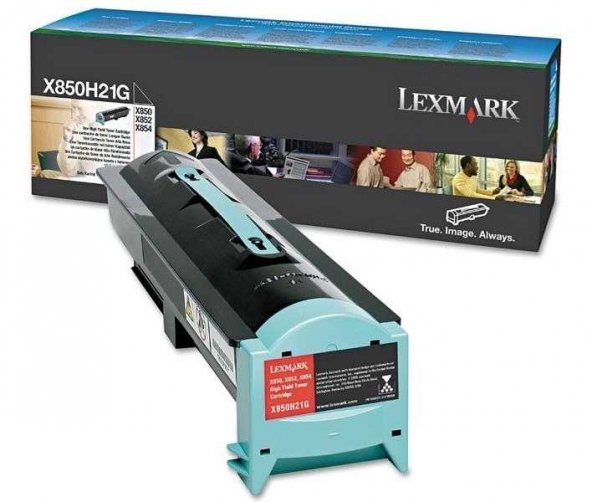 Lexmark X850-X850H21G Orjinal Toner