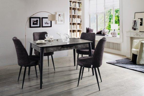 ALWAYSSTAR 672 Modern Tasarım Dekoratif Mutfak Masa Takımı