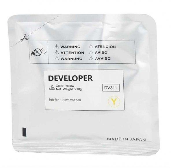 Konica Minolta DV-311 Sarı Muadil Developer