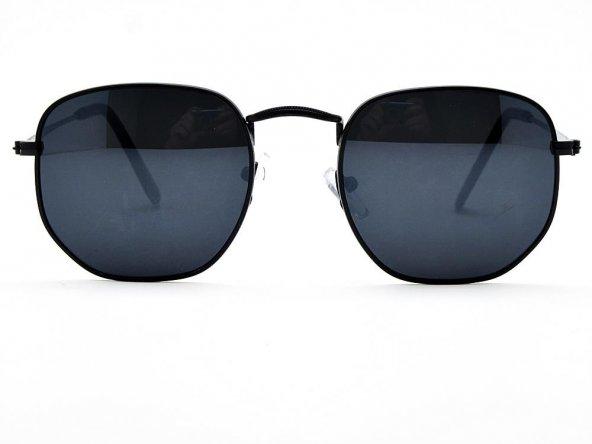 Extoll Beşgen Kadın Güneş Gözlüğü Beşgen Altıgen Gözlük ex612