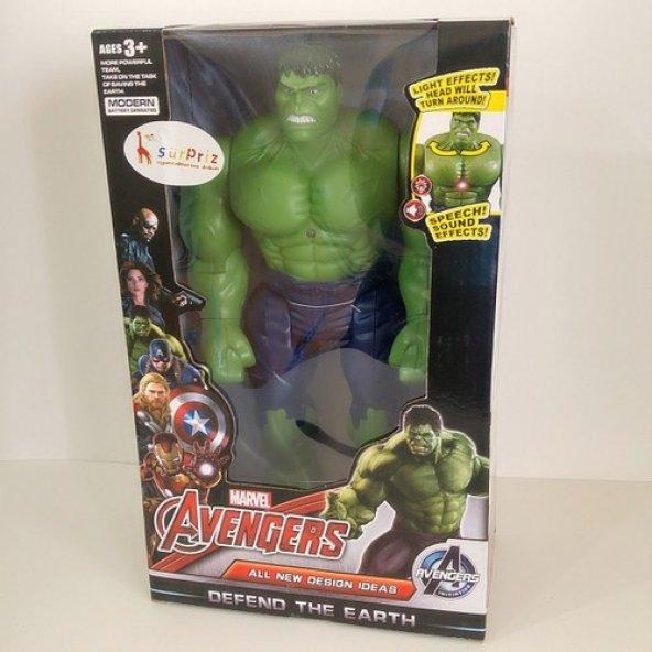 Oyuncak 30 cm Hulk Oyuncak Yeşil Dev Adam 30 cm Boyunda