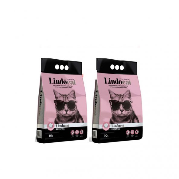 Lindo Cat Bebek Parfümlü İnce Kedi Kumu 5 Lt x 2