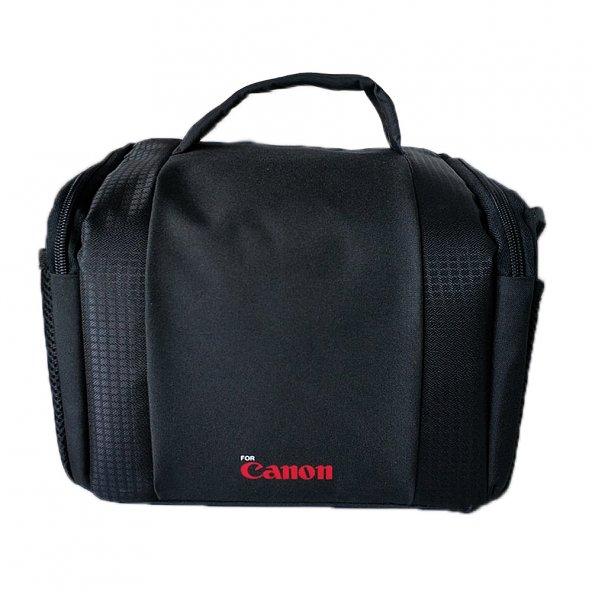 Canon Nikon Sony Fotoğraf Makinesi Çantası 1 Body 1 Lens Portatif