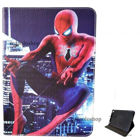 ipad 6. Nesil 2018 5. Nesil 2017 9.7 Kılıf Canvas Spiderman 003