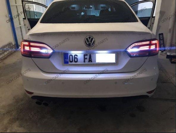 Volkswagen JETTA MK6 Geri Vites Ledi Beyaz Ampül T15 Led