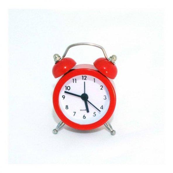 hureggo concept dekoratif mini çalar saat kırmızı