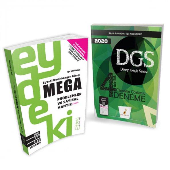 DGS ikili set - Eydeki Mega + Dört Dörtlük Deneme