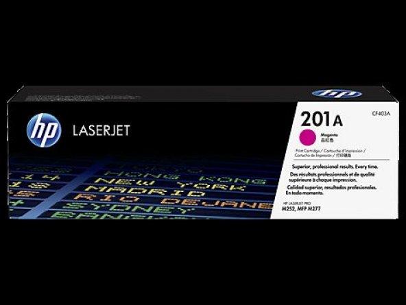 HP No 201A Kırmızı 1400 Sayfa Lazer Toner CF403A