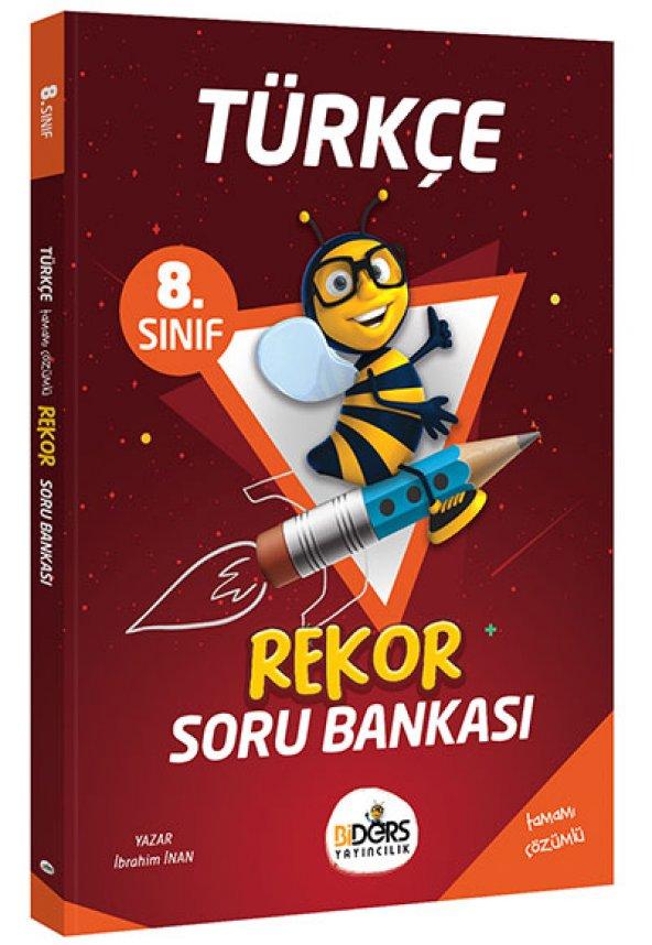 BiDers Yayıncılık 8. Sınıf Türkçe Rekor Soru Bankası