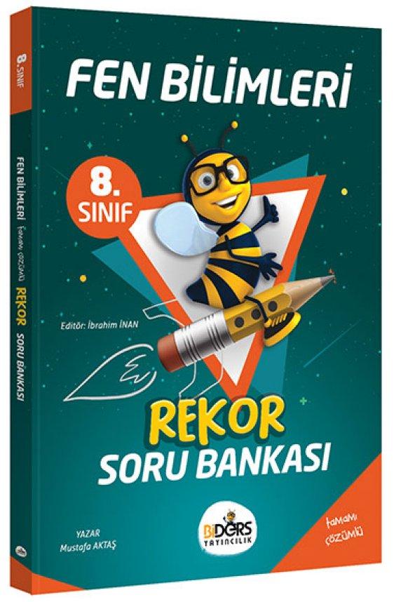 BiDers Yayıncılık 8. Sınıf Fen Bilimleri Rekor Soru Bankası