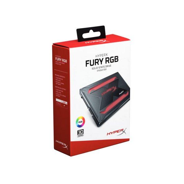 KINGSTON SHFR200/240G 240GB HYPERX FURY RGB 550/480MB/s SSD HDD