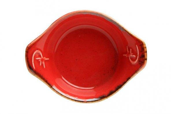 Porland Seasons Kırmızı Mini Tabak 8cm