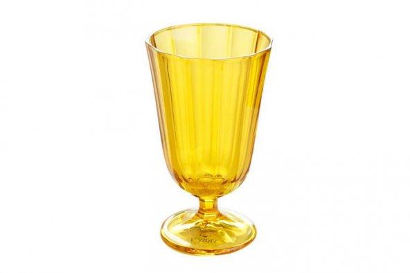 Porland Sarı Ayaklı Su Bardağı 250cc