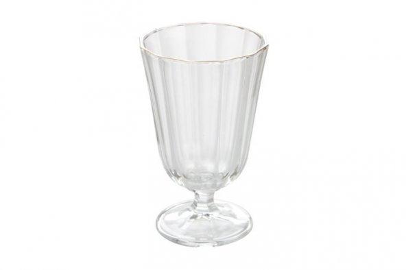 Porland Altın Ayaklı Su Bardağı 250cc