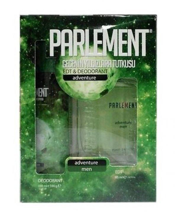 Parlement Adventure Erkek Parfüm Deodorant Seti 2li Paket