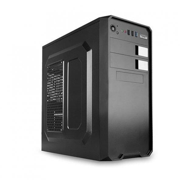 EVEREST mid Tower 300W 381A ATX PC Kasası Siyah