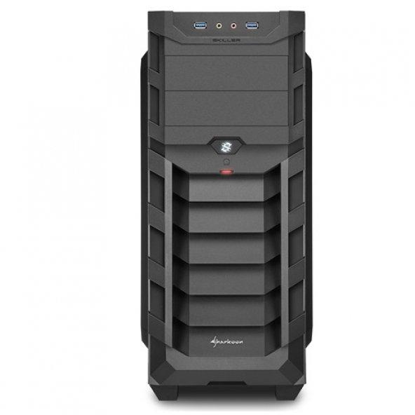 SHARKOON mid Tower Powersiz Gaming Skiller SGC1 Window ATX PC Kas