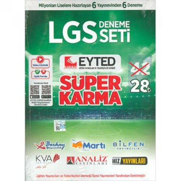 8. Sınıf LGS Eyted Süper Karma 6 lı Deneme Seti