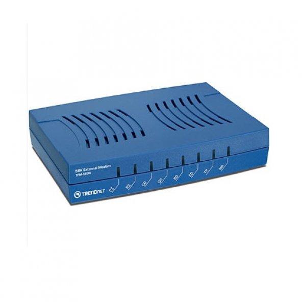 TRENDnet DialUP 56K TFM-560X Fax Modem Seri (RS232)