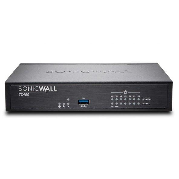 SONICWALL 100kullanıcı TZ400 01-SSC-0504 VPN 2yıl Ücretsiz Lisans