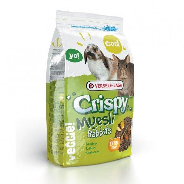 Verselelaga Crispy Muesli Rabbit Tavşan Yemi 1 kg ( 10 Adet )