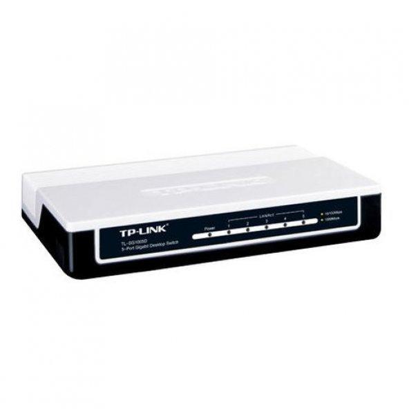 TP-LINK 5port TL-SG1005D Gigabit Yönetilemez Switch Desktop