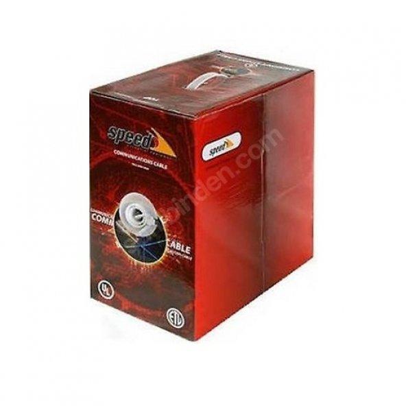 SPEED Premium Cat6 Ftp LSZH 23AWG 305m 99 Bakır Kablo (Halogen F