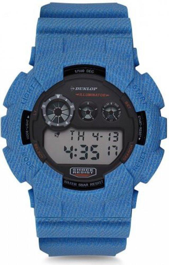 Dunlop DUN-341-G04 G-Shock Kasa Digital Kol Saati
