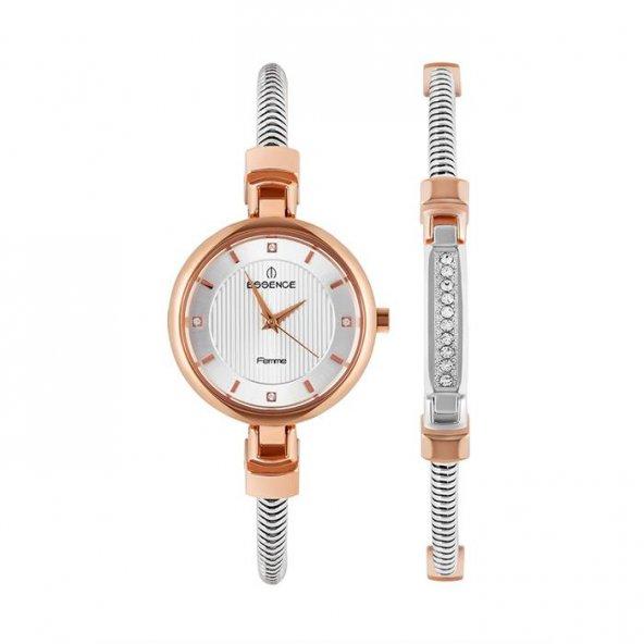 Essence D1100.530 Bayan Kol Saati Bileklik Takımlı